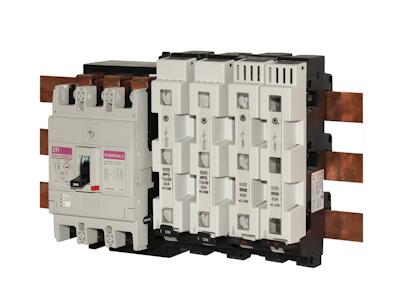 Разъединители и держатели предохранителей D, D0, CH для 60мм. шин